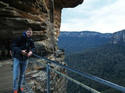 Blue Mountains bei Katoomba, Three Sisters