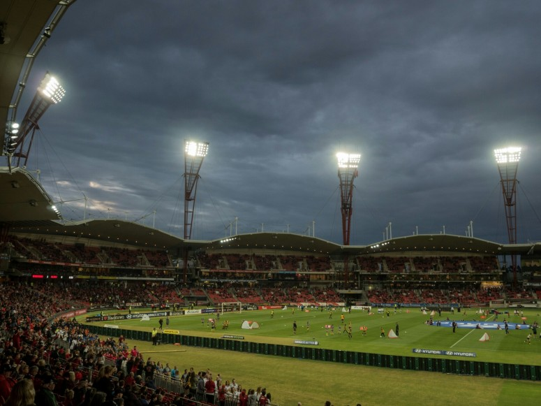 Stopless Stadium, Western Sydney Wanderers, A-League Australia, Sydney-Perth, dreamcatcher.tv, dreamcatchertv